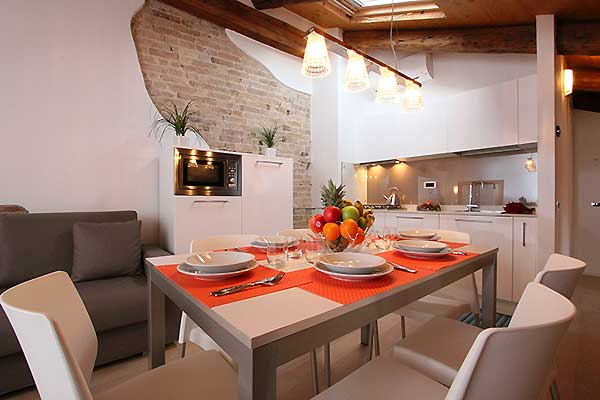 Modern style apartments in the historic centre of Venice