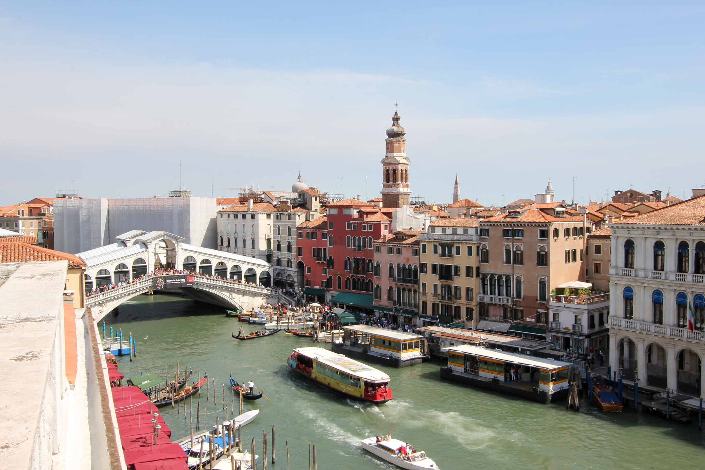 Appartement Grand Canal Terrace San Polo Venise