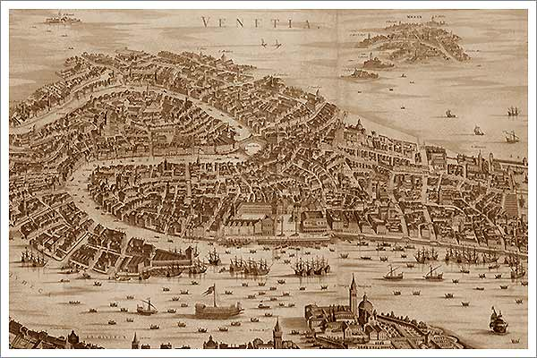 Venice's thousand year history
