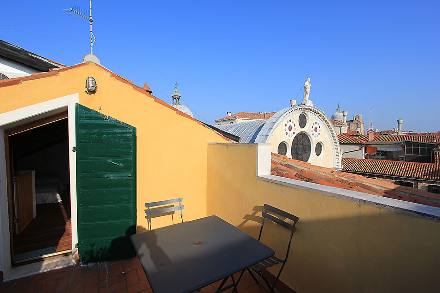 Apartment in Venice Rialto Miracoli Terrace