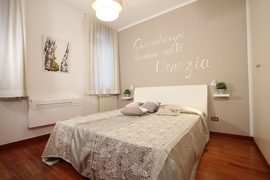 Photo 9 de 12 - Rialto Dream, Chambre matrimoniale